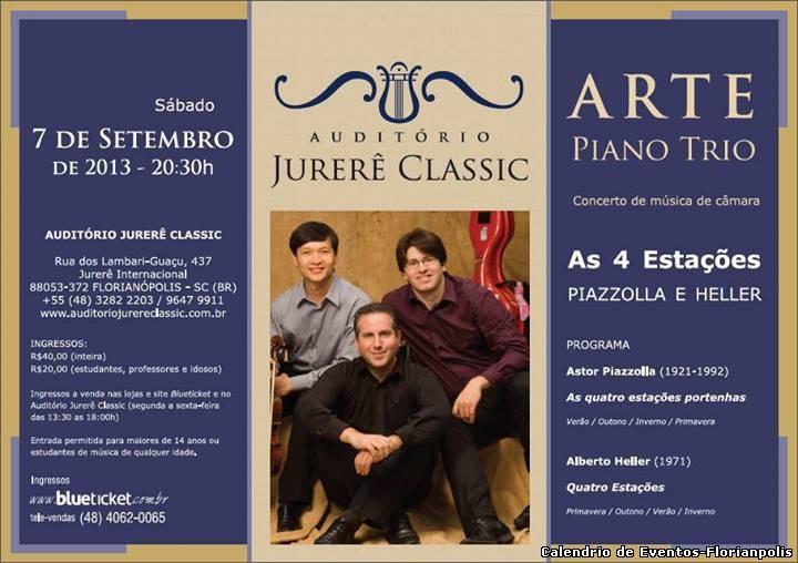 Arte Piano Trio apresenta