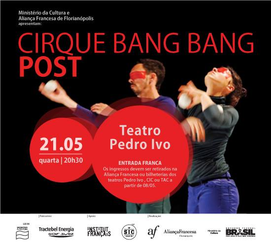 "Espetáculo ""Post"", da Cirque Bang Bang"