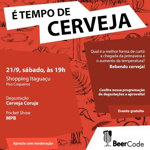 Degustação da Cerveja Coruja + Pocket Show MPB