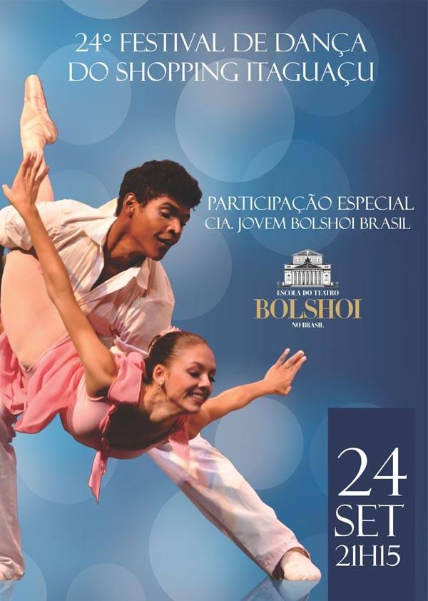 Balé Bolshoi na abertura do 24º Festival de Dança