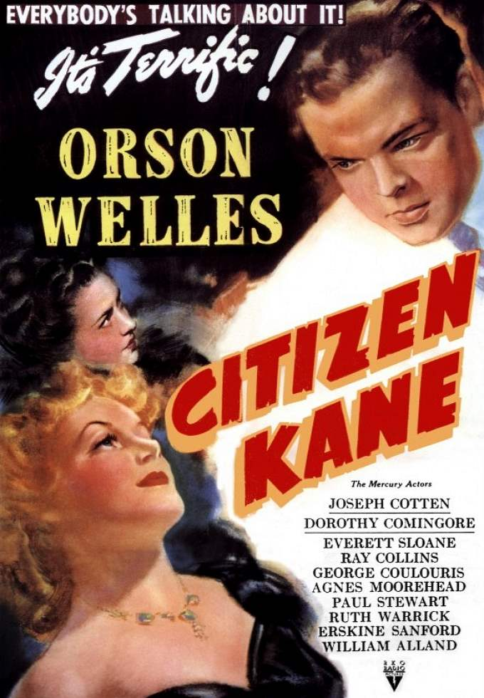 "Mostra Orson Welles exibe ""Cidadão Kane"" (Citizen Kane. 1941)"