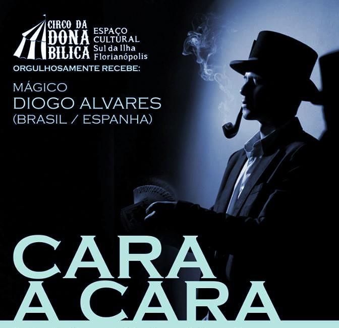 """Espetáculo """"Cara a Cara"""", de mágico Diogo Alvares"""