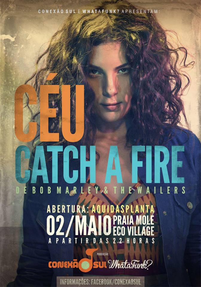 "Show da cantora Ceú ""Catch a Fire"""