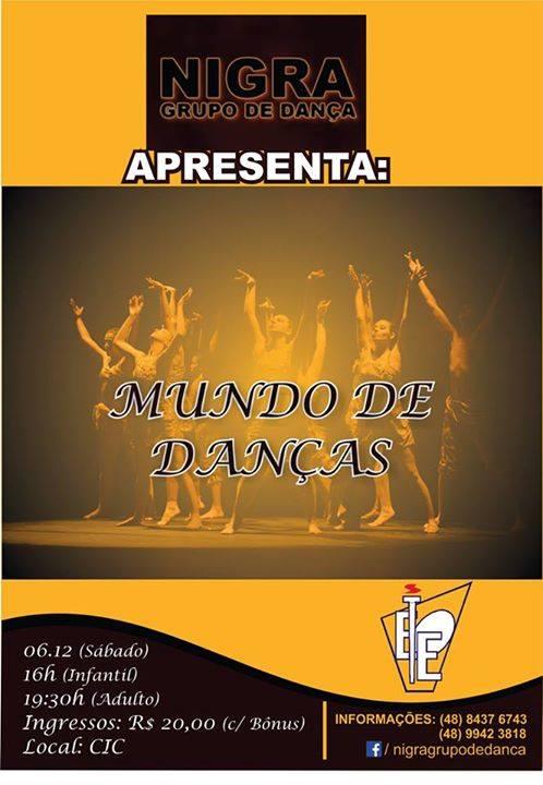 Mundo de Danças - Nigra Grupo de Dança