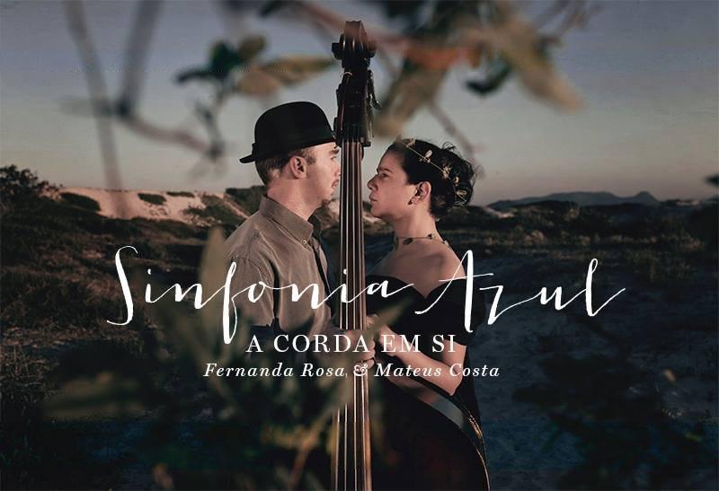 """""""A Corda Em Si"""" apresenta o show """"Sinfonia Azul"""" no Projeto 12:30"""