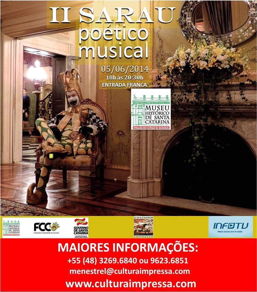 II Sarau Poético Musical
