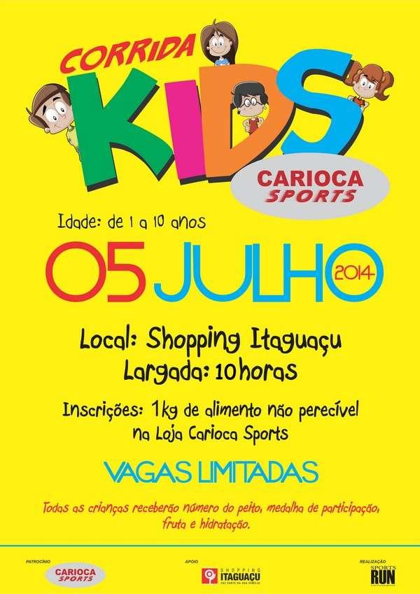 1ª Corrida Kids Carioca Sports