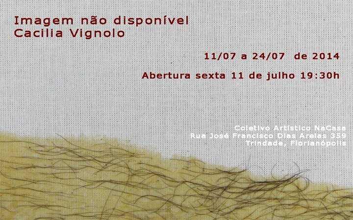 """Exposição """"Imagem não disponível"""" de Cecilia Vignolo"""