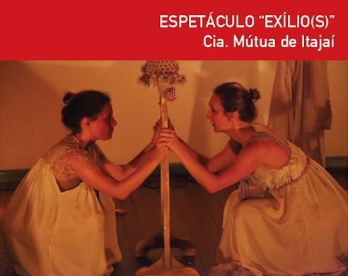 """Espetáculo """"EXÍLIO(S)"""", da Cia Mútua"""