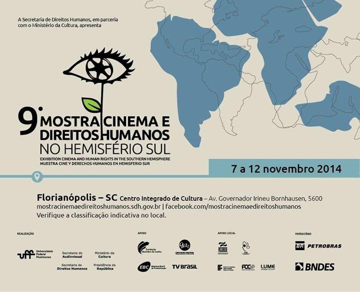 9ª Mostra Cinema e Direitos Humanos no Hemisfério Sul - programação