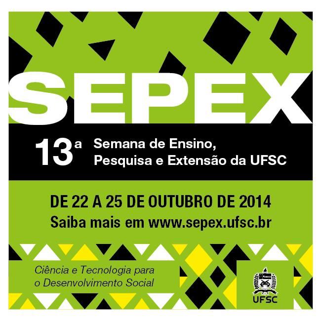 13ª Sepex 2014 - programação artístico-cultural