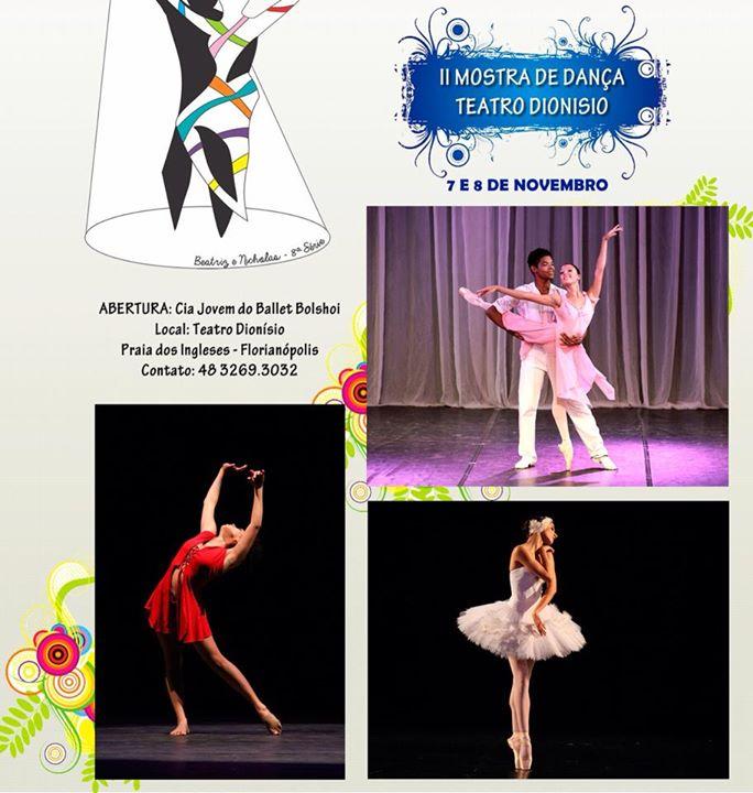 """II Mostra de Dança """"Teatro Dionísio"""""""