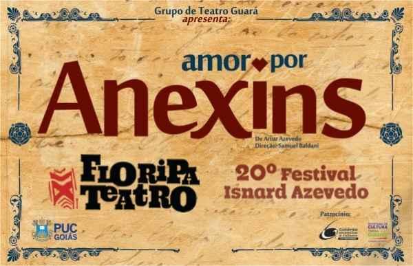 """""""Amor por Anexins"""" no Floripa Teatro - 20º Festival Isnard Azevedo"""
