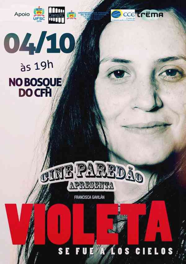 Cine Paredão Apresenta: Violeta se fue a los cielos