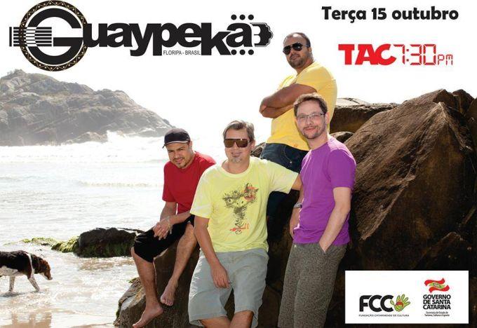 Banda Guaypeka apresenta o show de forró - Projeto TAC 7:30