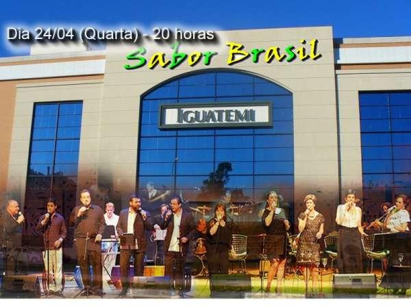 Pocket show gratuito com a Banda Sabor Brasil