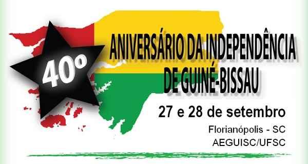 Homenagem ao 40° Aniversário da Independência de Guiné-Bissau