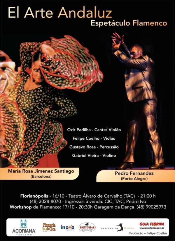 El Arte Andaluz- Espetáculo Flamenco