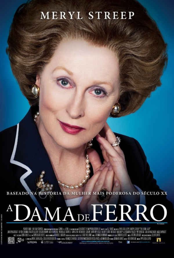 "Exibição do filme ""A Dama de Ferro"" (The Iron Lady), de Phyllida Lloyd"