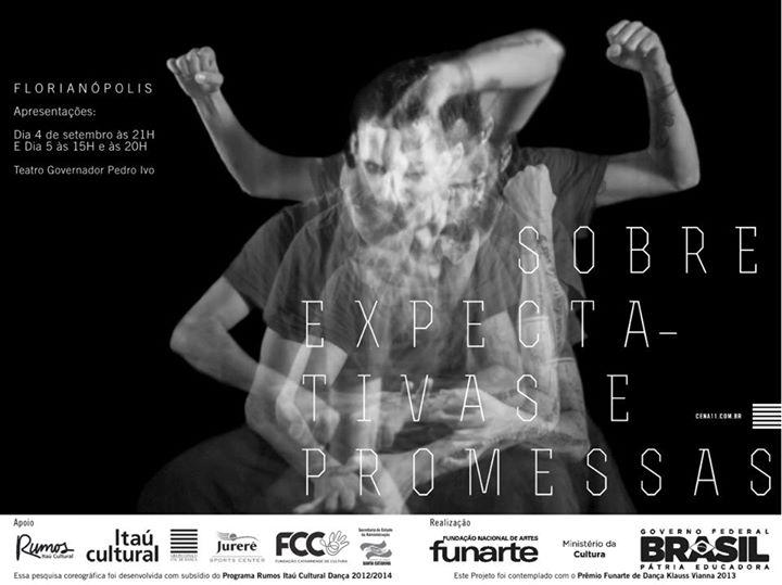 """Espetáculo """"Sobre Expectativas e Promessas"""" do Grupo Cena 11"""