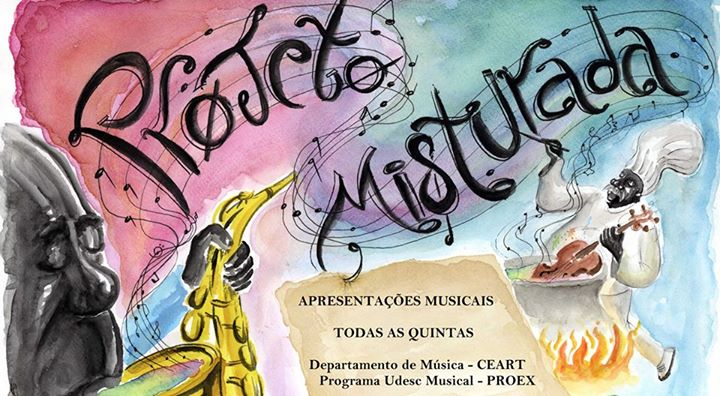 Projeto Misturada Musical - Agenda Cultural 2014/2