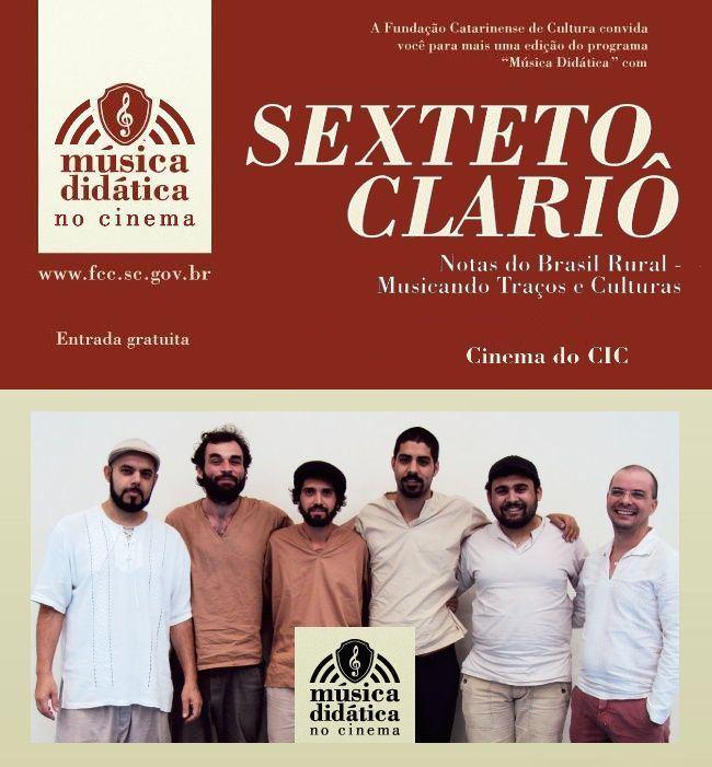 Sexteto Clariô - Música Didática no Cinema