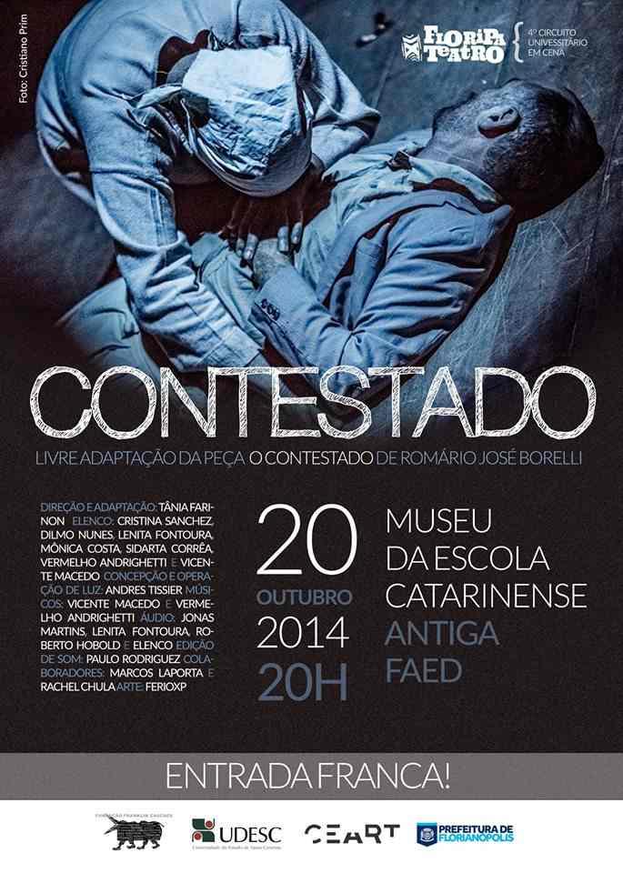 """Espetáculo """"Contestado"""" - 21º Festival Isnard Azevedo"""