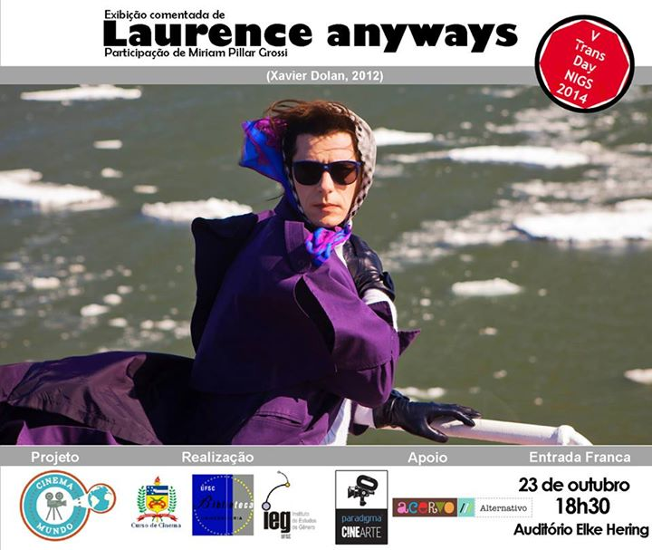 "Cinema Mundo apresenta ""Laurence anyways"" (2012), de Xavier Dolan"