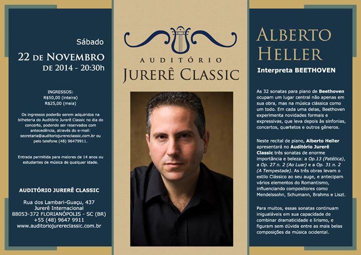 Alberto Heller interpreta Beethoven