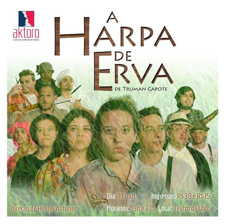 """Espetáculo """"A Harpa de Eva"""""""