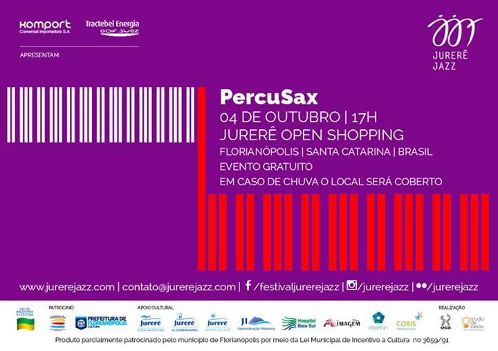 PercuSax Street Quinteto - Jurerê Jazz