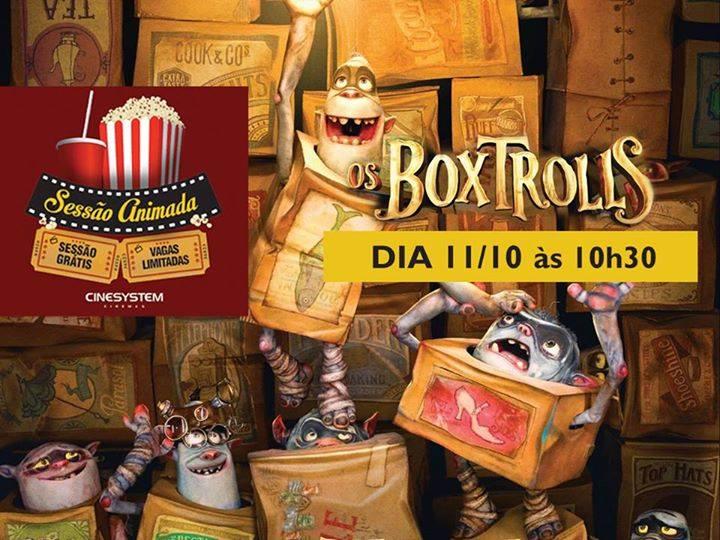 """Sessão gratuita do filme """"Os Boxtrolls"""" no Sábado Animado"""