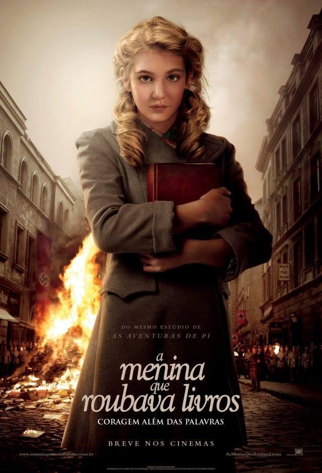 """Exibição do filme """"A menina que roubava livros"""" (2014) de Brian Percival"""