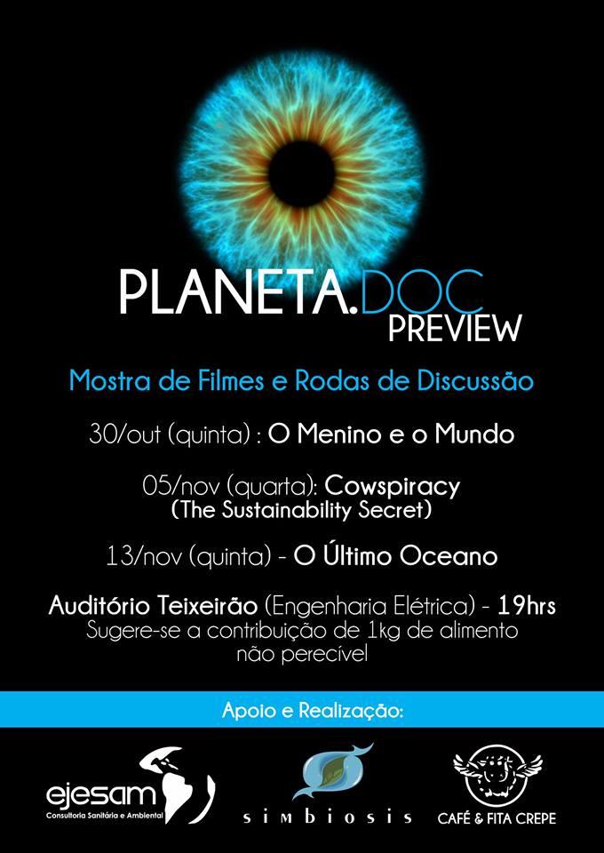 Mostra preview do Festival de Cinema – Planeta.Doc