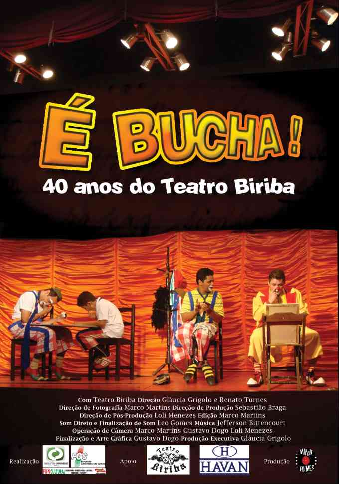"Filmes ""53 Cartas"" e ""É Bucha! 40 anos do Teatro Biriba"" no Cinema do CIC"