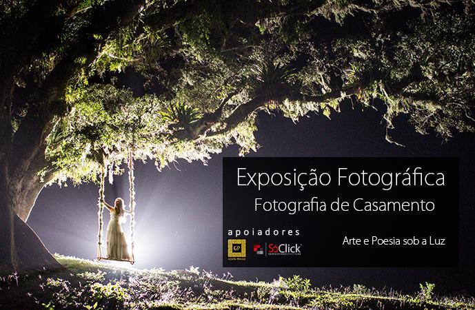 Exposição Fotografia de Casamento: A Arte e Poesia sob a Luz
