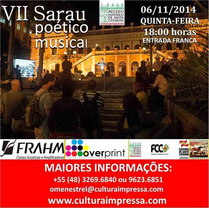 VII Sarau Poético Musical