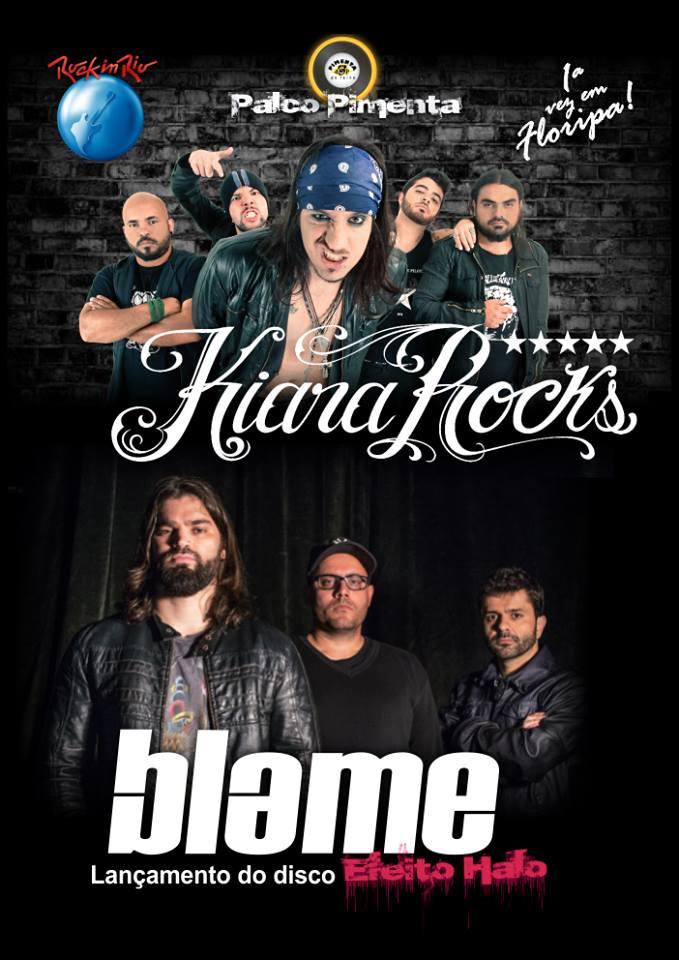 """Lançamento do disco """"Efeito Halo"""" da banda Blame"""