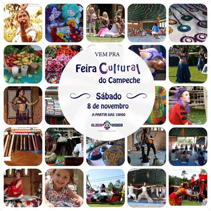 Feira Cultural do Campeche - Aniversário de 1 ano da Aldeia Indigo