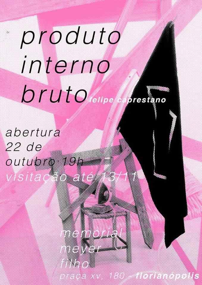 """Exposição """"Produto Interno Bruto"""", de Felipe Caprestano"""