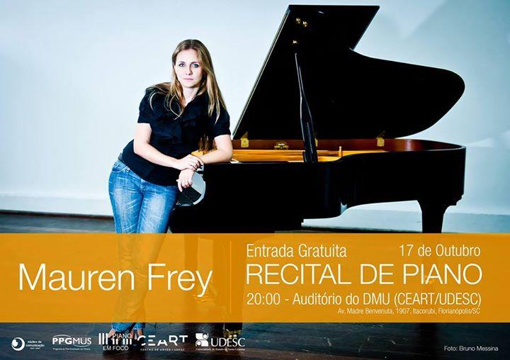 Recital de Piano, com Mauren Frey
