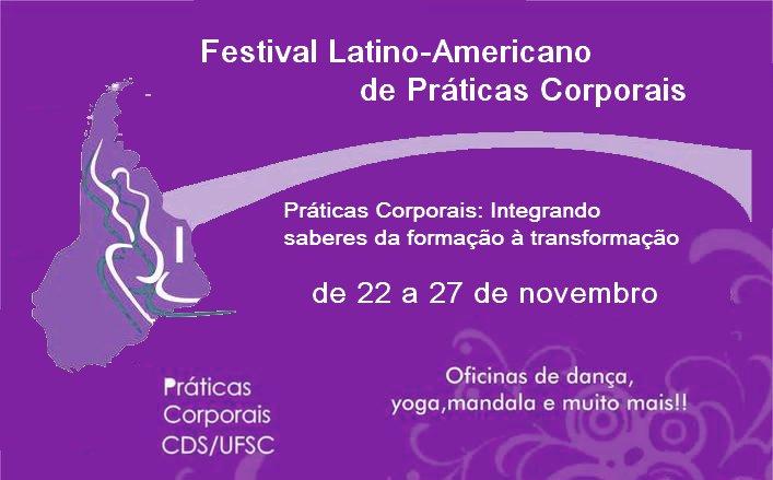 I Festival Latino-Americano de Práticas Corporais