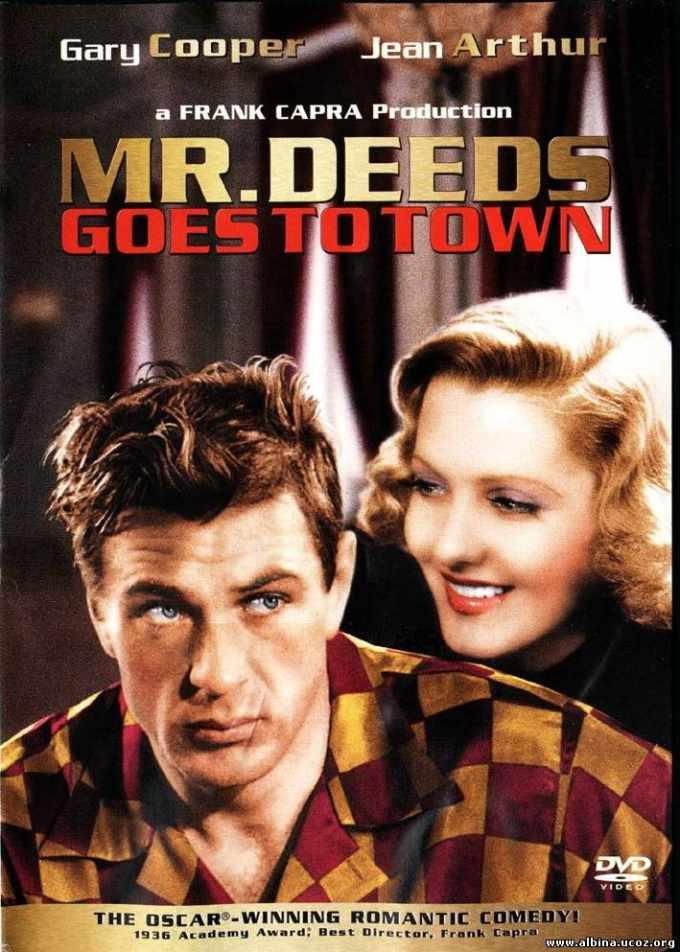 """Cineclube Badesc exibe """"O galante Mr. Deeds"""" de Frank Capra"""