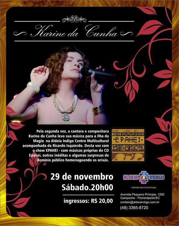 "Show ""Epahei"", com Karine da Cunha"