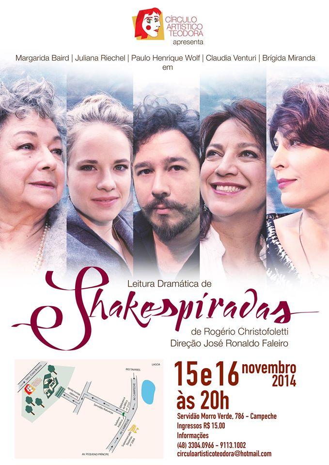 Leitura Dramática de Shakespiradas