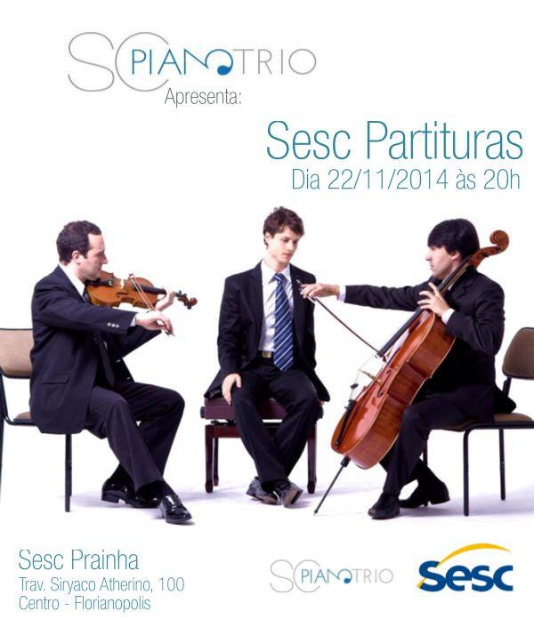 SC Piano Trio Apresenta: Sesc Partituras - Compositores Brasileiros