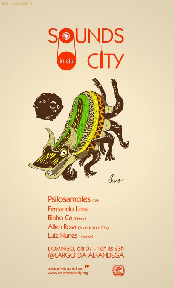 Sounds in da City com Psilosamples
