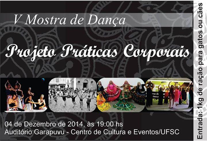 V Mostra de Danças do Projeto Praticas Corporais