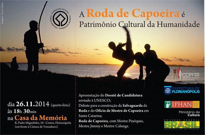 Roda de Capoeira recebe o título de Patrimônio Cultural Imaterial da Humanidade