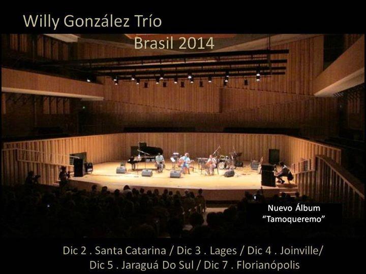 Show do grupo argentino Willy González Nuevo Trio